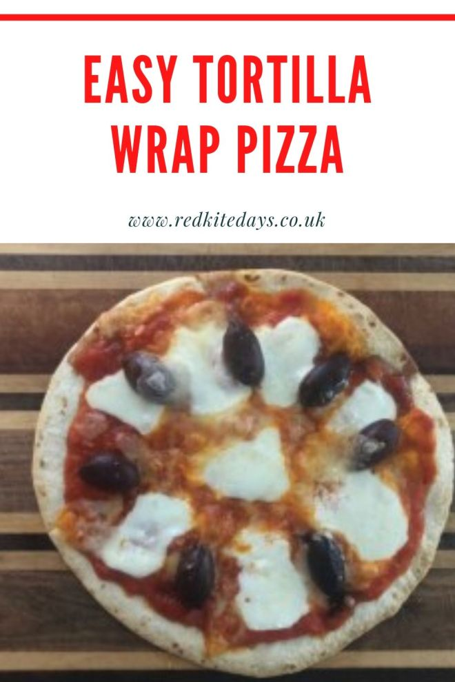 tortilla wrap pizza, easy kids meals, meals kids can make