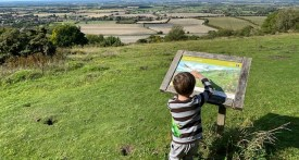 chinnor hill, chinnor hill nature reserve, chinnor hill parking