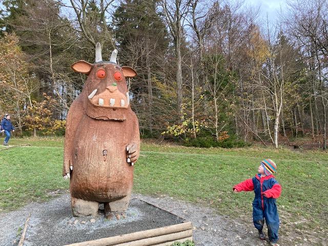 wendover woods gruffalo trail, family trail buckinghamshire, woodland walk buckinghamshire, gruaffalo trails
