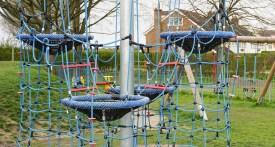 rope climbing playground
