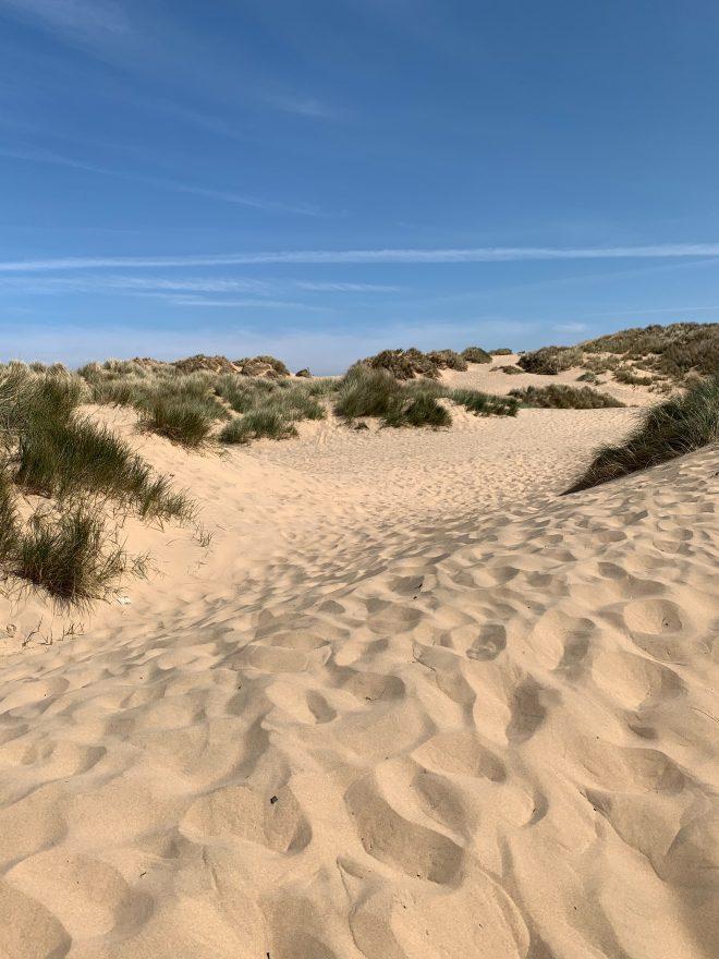 Formby Beach Merseyside, beach days out north west england
