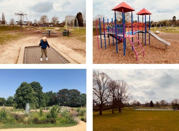 oaken grove park maidenhead, maidenhead parks, oaken grove, berkshire playparks