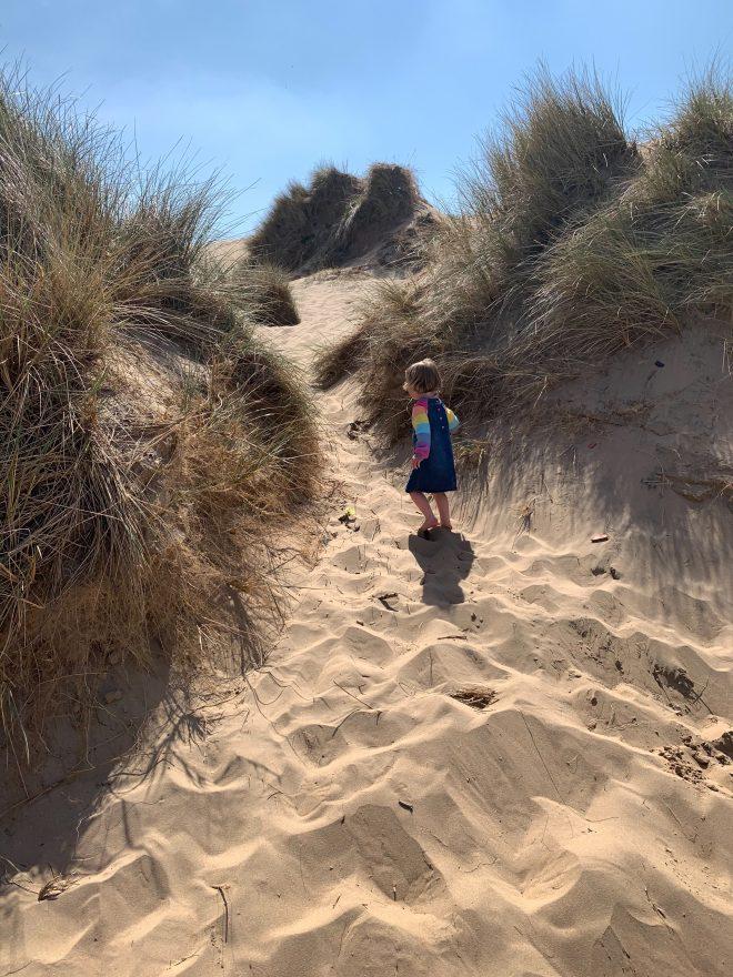 Formby Beach, Great beach near cheshire