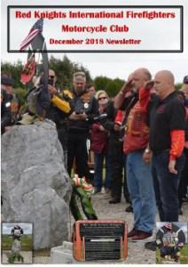 international newsletter december 2018 red-knights cover