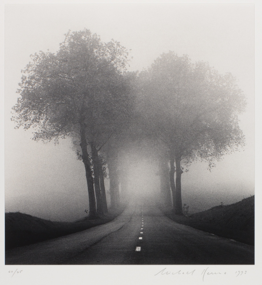Michael Kenna - Homage to HCB (Henri Cartier-Bresson), Brittany, France 1993