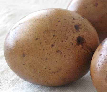Smoked eggs