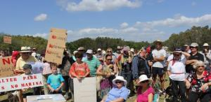 Community opposition to the Toondah PDA
