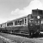 Rail motor for Manly Cleveland line, 1930