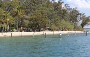Swimming enclosure at Karragarra Island