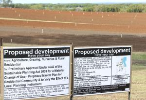 Shoreline notice of proposed development