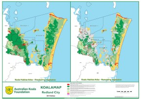 Redland Koala Habitat Atlas. Pre-clearing - Current vegetation.