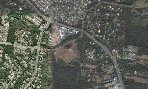 Area of possible residential development in Redland Bay Road Capalaba