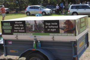 Koala Action Group advocates protection from dog attacks
