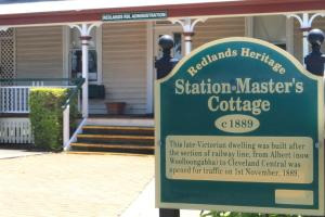 The Station Master's Cottage in Middle Street, Cleveland