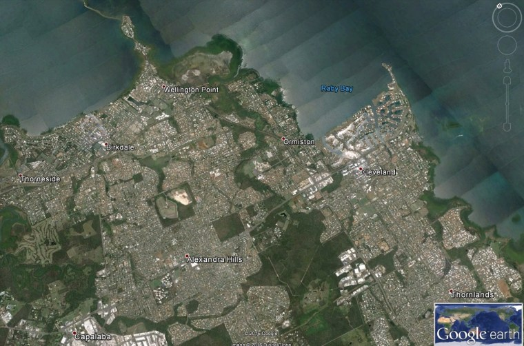 Redland City's northern residential localities