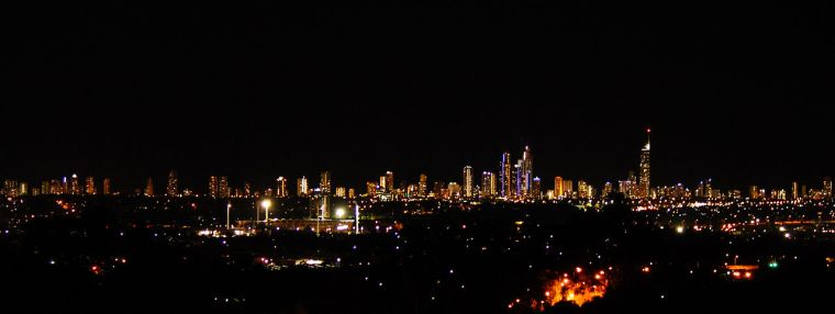 Gold Coast skyline by night Photo: Kelly Hunter