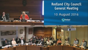 Video of the Redland City Council meeting on 10 August - Crazy Day in Cleveland