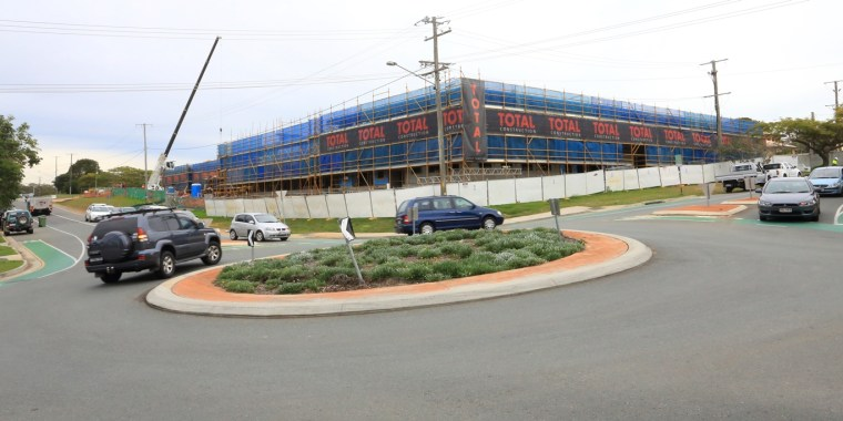 Parking is a concern at the construction site for an aged care facility in Smith Street Cleveland