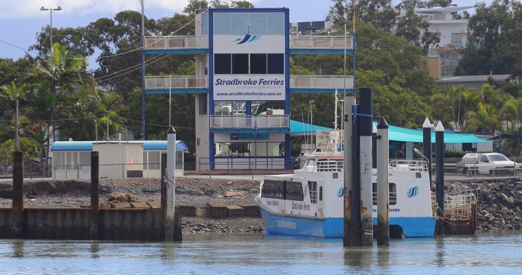Stradbroke Ferries operated by Sealink out of Toondah Harbour in Cleveland