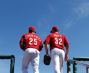 The historically bad 2014 Cincinnati Reds Outfield