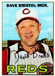 Talking to the newest Reds Hall of Famer, Dave Bristol