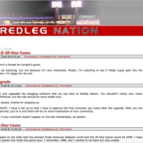 Redleg Nation Flashback: 2005