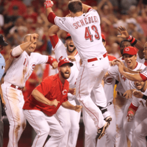 The Reds position player depth chart