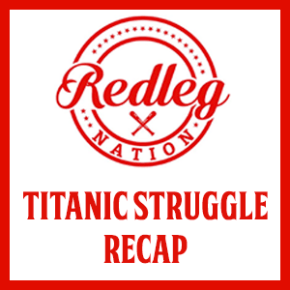 Titanic Struggle Recap: The Billy Hamilton/Amir Garrett Power Hour