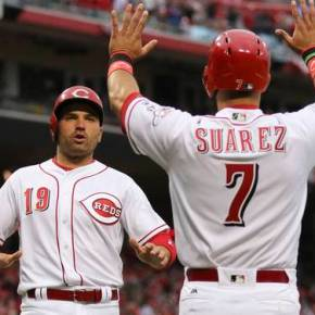 Reds' plate discipline trending in the right direction