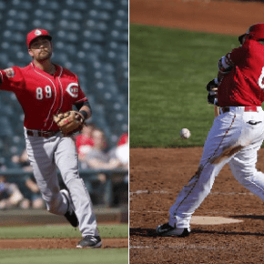 The oft-forgotten men in the Reds' infield and outfield logjams