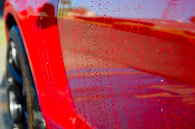 Redline Finish - Removing wildfire ash from your vehicle