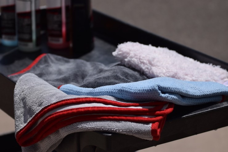 Redline Finish - How to identify a high quality microfiber towel
