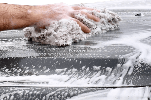 The Boss Ultimate Microfiber Wash Pad is super soft