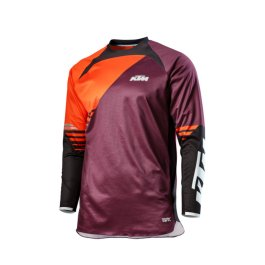 KTM GRAVITY-FX MX MOTOCROS SHIRT BURGUNDY