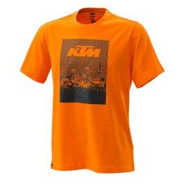 KTM RADICAL TEE ORANGE
