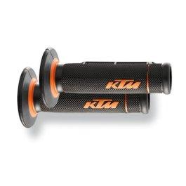KTM GRIP SET DUAL COMPOUND OPEN END