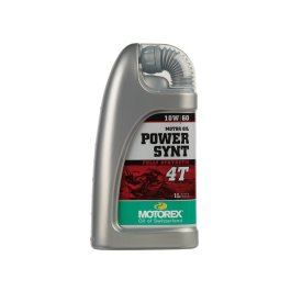MOTOREX POWER SYNT 4T 10/60 OIL 1 LITRE