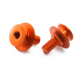 KTM PADDOCK STAND ADAPTOR ORANGE