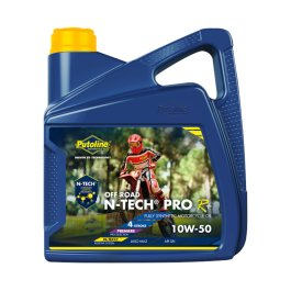 PUTOLINE OFF ROAD 10/50 N-TECH OIL 4 LITRES