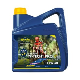 PUTOLINE OFF ROAD 15/50 N-TECH OIL 4 LITRES