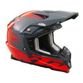 KTM KIDS DYNAMIC-FX MX HELMET HELMET GREY