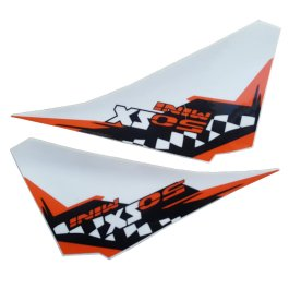 KTM GRAPHICS DECAL SET 50 SX/MINI 2011