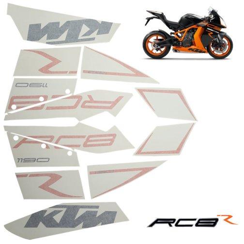 KTM DECAL KIT 1190 RC8 R BLACK 2011-2012