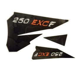 KTM REAR GRAPHIC DECALS 250 EXC-F 2006