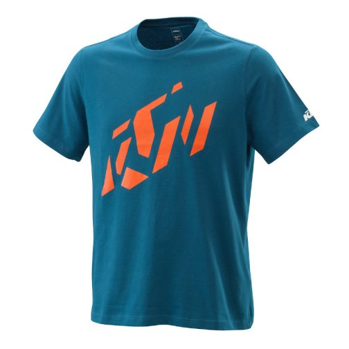 KTM RADICAL SLICED T-SHIRT BLUE