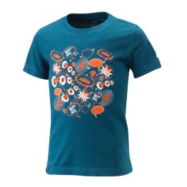 KTM KIDS RADICAL T-SHIRT BLUE