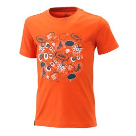 KTM KIDS RADICAL T-SHIRT ORANGE
