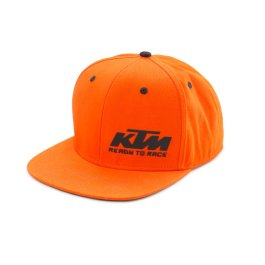KTM TEAM SNAPBACK CAP ORANGE