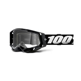 RACECRAFT 2 GOGGLE BLACK – CLEAR LENS