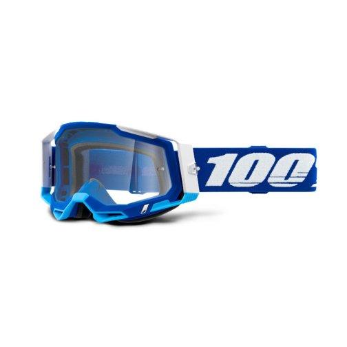 RACECRAFT 2 GOGGLE BLUE - CLEAR LENS